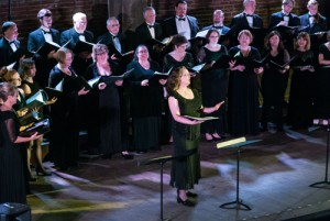 solo performance with Repertory Singers