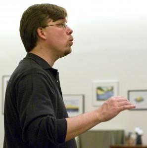 Steve Zielke conducting